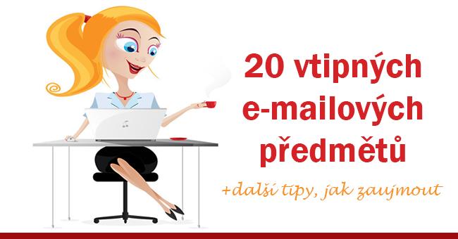 20 vtipných emailových předmětů